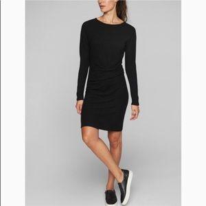 ATHLETA- Solitude Shirt Dress Sweater Long Sleeve